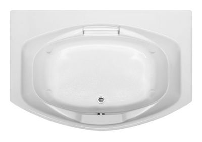 Jessica 6048 - Available in 4 Systems (Soaker, Air, Whirlpool, Combo System) - Including Free Drain & Free Shipping to the Club