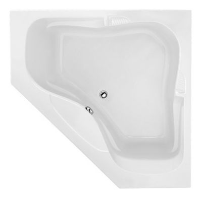 Lara 6060 Corner - Available in 4 Systems (Soaker, Air, Whirlpool, Combo System) - Including Free Drain & Free Shipping to the Club