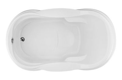 Vanessa 7242 Oval - Available in 4 Systems (Soaker, Air, Whirlpool, Combo System) - Including Free Drain & Free Shipping to the Club