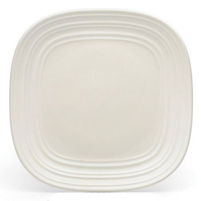 Mikasa® Swirl Square White 8¾