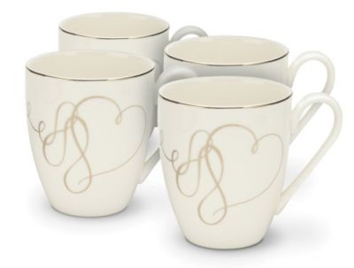 Mikasa® Love Story Mug - Set of 4
