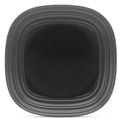 Mikasa® Swirl Square Black 8¾
