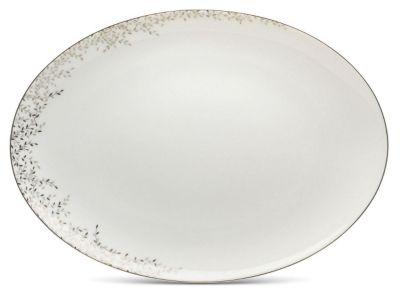 Mikasa® Shimmer Vine Oval Platter