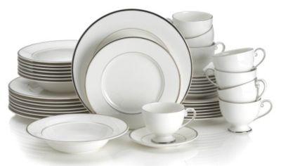 Mikasa® Cameo Platinum 40-Piece Dinnerware Set