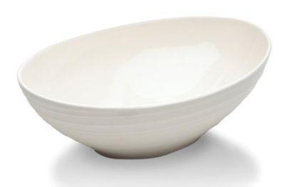 Mikasa® Swirl White 10½
