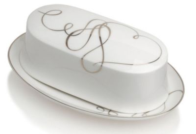 Mikasa® Love Story Covered Butter Dish