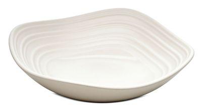 Mikasa® Swirl Square White 6½