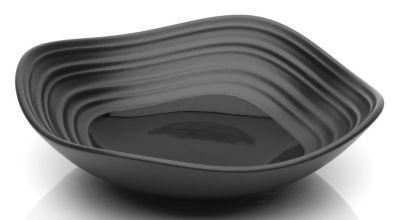 Mikasa® Swirl Square Black 6½