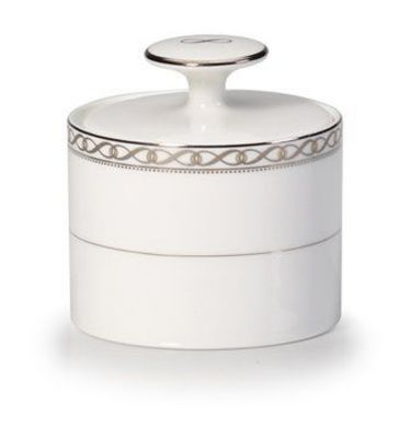 Mikasa® Infinity Band Covered Sugar Bowl