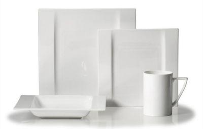 Mikasa® Modern White 4-Piece Place Setting
