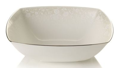 Mikasa® Venetian Lace Square Serving Bowl