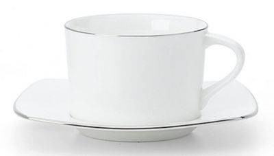 Mikasa® Couture Platinum 8 oz. Tea Cup & 4¼