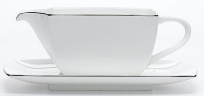 Mikasa® Couture Platinum Gravy Boat with Stand