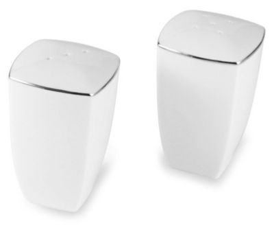Mikasa® Couture Platinum Salt & Pepper Shakers