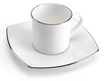 Mikasa® Couture Platinum Espresso Cup & Saucer