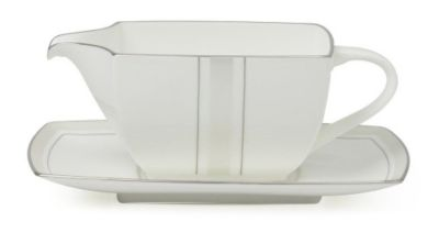 Mikasa® Platinum Matrix Gravy Boat with Stand