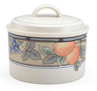Mikasa® Garden Harvest 11 oz. Covered Sugar Bowl