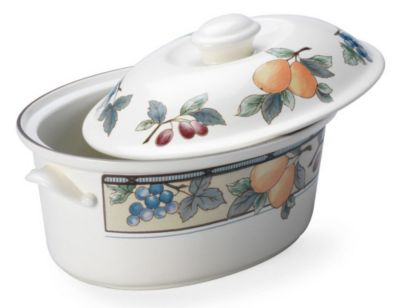 Mikasa® Garden Harvest 1½ qt. Oval Covered Casserole