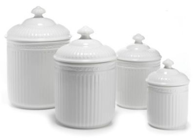 Mikasa® Italian Countryside 4-Piece Canister Set
