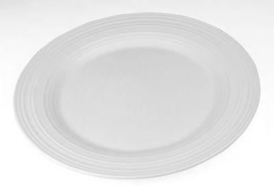 Mikasa® Swirl White Chop Plate