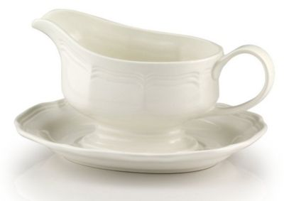 Mikasa® French Countryside Gravy Boat with Stand