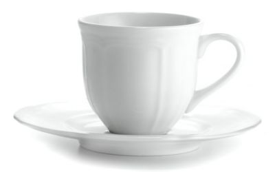 Mikasa® Antique White Fine China Espresso Cup & Saucer