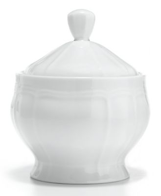 Mikasa® Antique White Fine China Covered Sugar Bowl