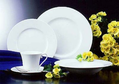 Mikasa® Satin White 5-Piece Place Setting