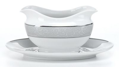 Mikasa® Parchment Gravy Boat with Stand