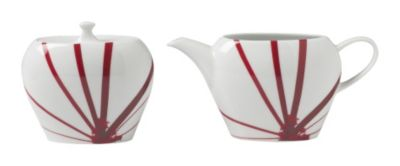 Mikasa® Pure Red Sugar Bowl & Creamer