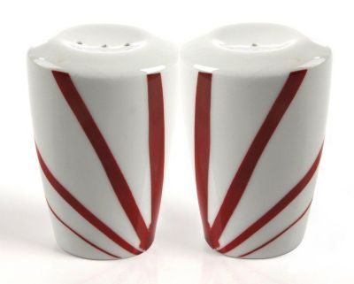 Mikasa® Pure Red Salt & Pepper Shakers