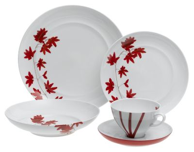 Mikasa® Pure Red 5-Piece Place Setting