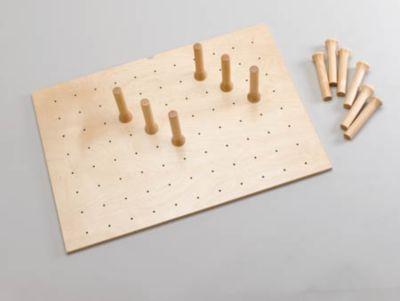 Medium Drawer Peg System with 12 Pegs