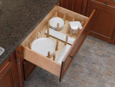 Large Drawer Peg System with 16 Pegs