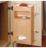 Sink Base Door Storage Wood Grocery Bag Holder for Base 15