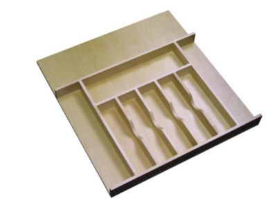 Wood Cutlery Tray Insert