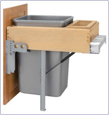 Rev-A-Motion™ 50-Quart Top-Mount Pull-Out Waste Container