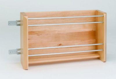 Wood Vertical Foil Rack for 21
