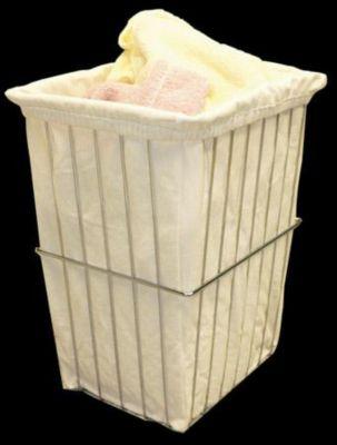 Cloth Hamper Bag - Ivory