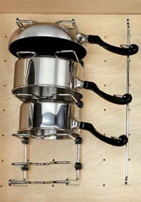Pot/Pan Organizer - Chrome