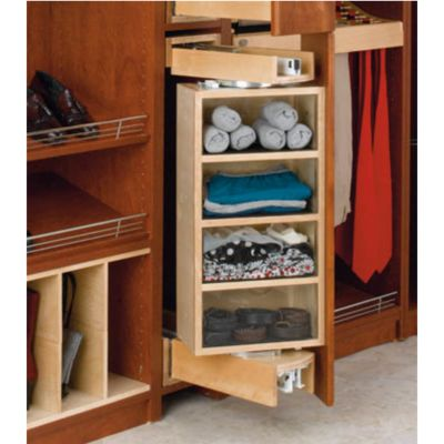 Storage Wood Closet Armoire