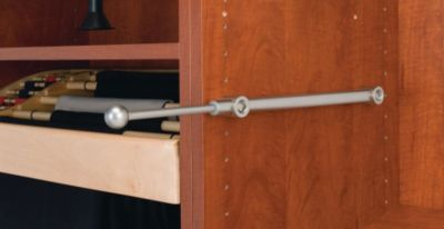 Designer Series Valet Rod - Satin Nickel