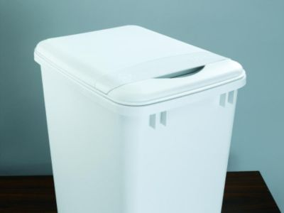 35-Quart Waste Container Lid - White
