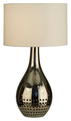 Perf Table Lamp