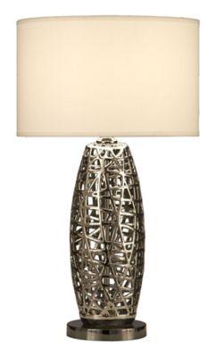 Bird's Nest Oval Table Lamp