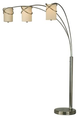 Internal 3-Light Arc Floor Lamp