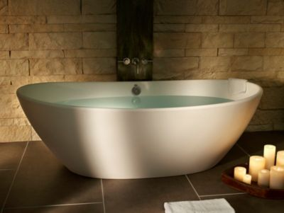 Elise 1 Freestanding Oval Soaker Tub