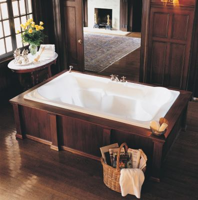 Siesta 1 Rectangular Drop-In Soaker Tub