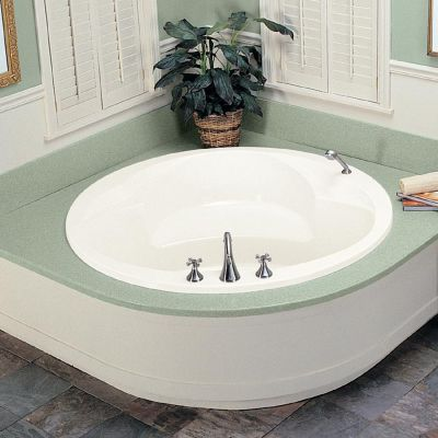 Rendezvous 1 Round Drop-In Soaker Tub