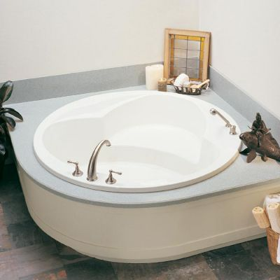 Rendezvous 2 Round Drop-In Soaker Tub